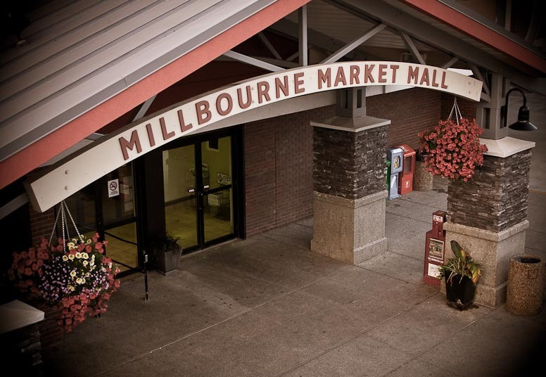 Millbourne Mall Entrance